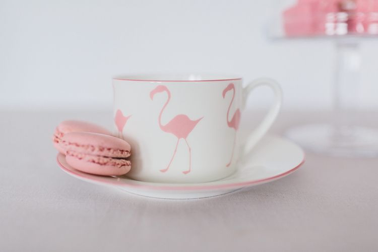 Flamingo Bone China Tea Set