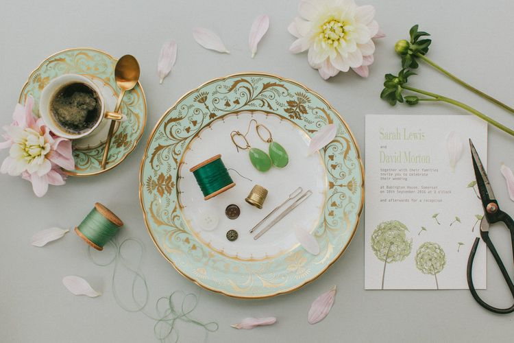 Delicate & Beautiful China Plates From The Wedding Shop