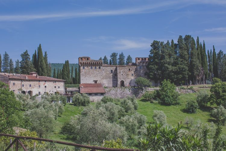 Tuscany Wedding Venue Castello del Trebbio