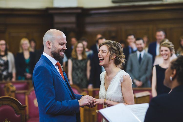 Stylish Budget Wedding In London Images From S6 Photography and Film by This Modern Revelry