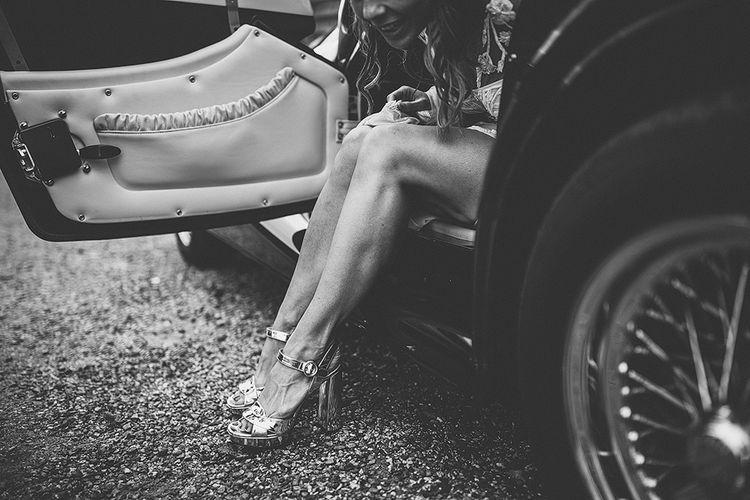 Prada Block Heels For Wedding