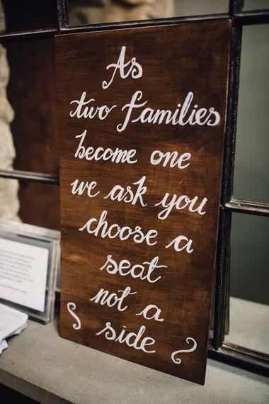 Rustic Wooden Wedding Signage