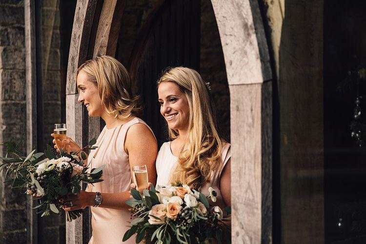 Bridesmaids In Ghost London Dresses
