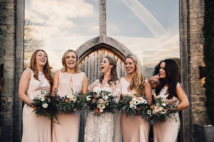 Wedding Party In Ghost London Dresses