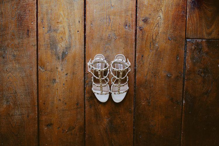 Valentino Rockstud Wedding Shoes