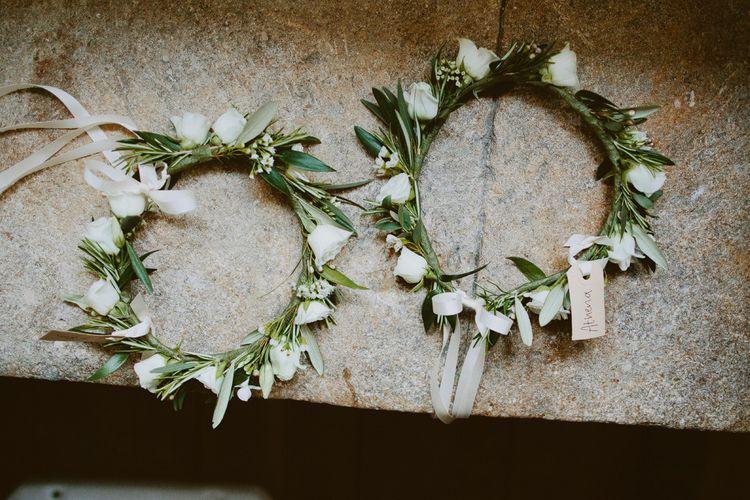 Delicate Flower Crowns For Flower Girls