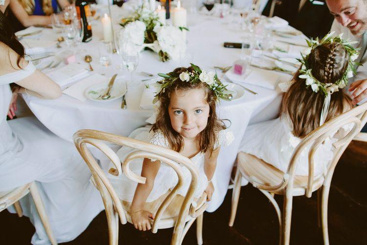 Elegant Wedding at Brympton House With Bride in Bespoke Wedding Dress