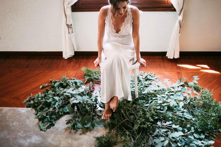 Getting Ready | Carpet of Greenery
