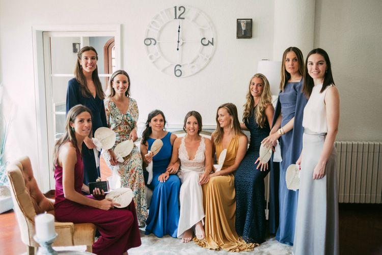 Brightly Coloured Bridesmaid Dresses