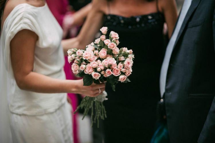Pink Miniature Roses Bouquet