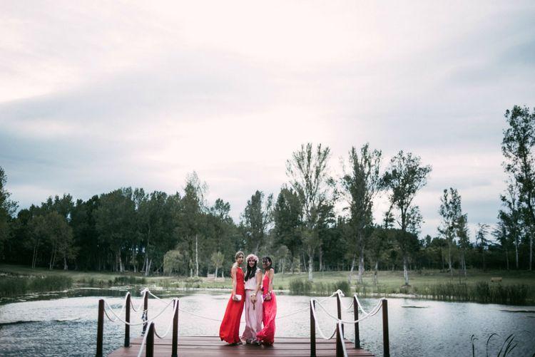 Elegant Wedding Guests