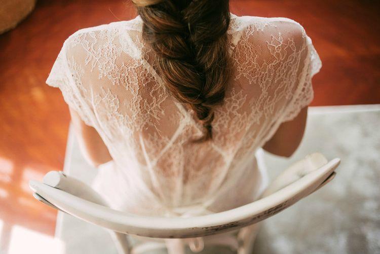 Lace Back | Bridal Braid