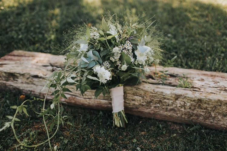 Greenery & Berry Bridal Bouquet