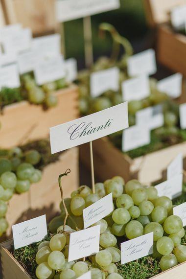 Grape Vines Table Plan