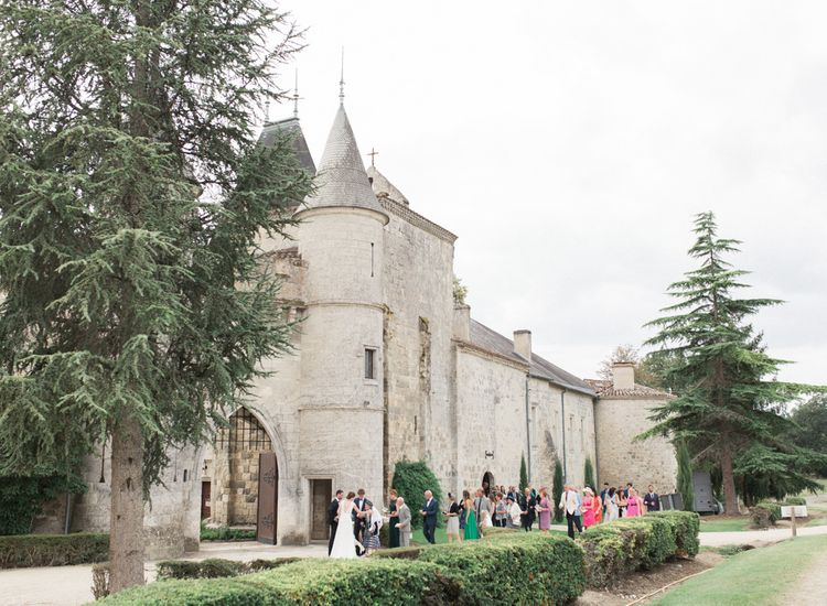 Fairytale Castle Wedding at Chateau de Lisse in France | Lilli Kad Photography