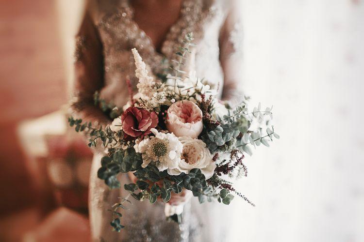 Beautiful Structured Wedding Bouquet