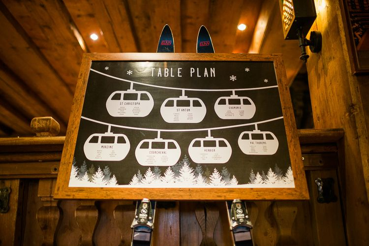 Ski Car Table Plan