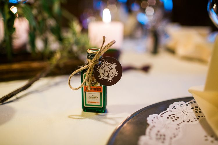 Jaegermister Wedding Favour