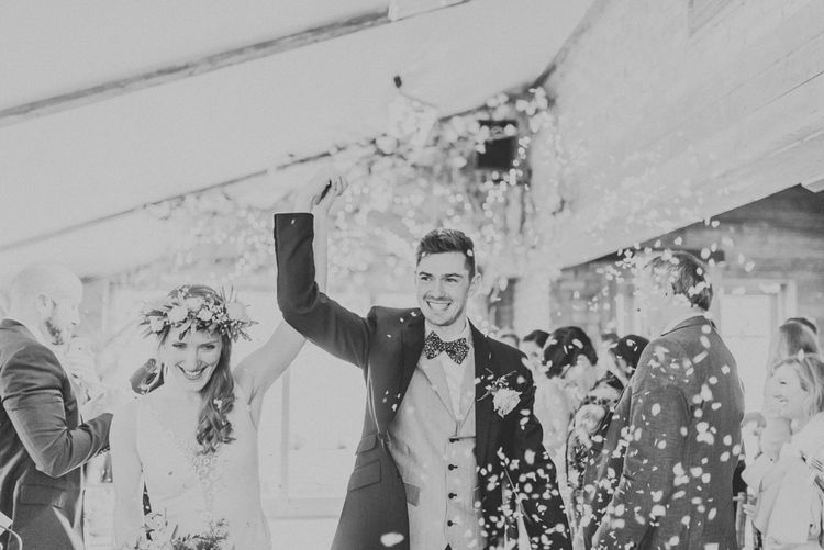 Bride & Groom Married | Wedding Ceremony | Confetti Exit