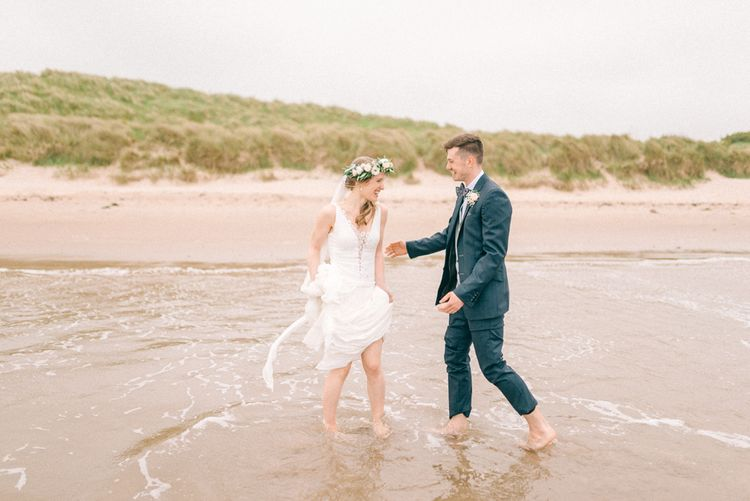 Beach Portraits | Coastal Wedding