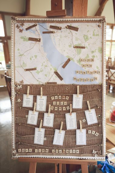 Map Table Plan For Wedding