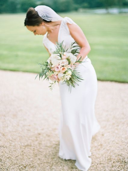 Bride in Rose & Delilah Gown | David Jenkins Photography | Confetti & Silk Films