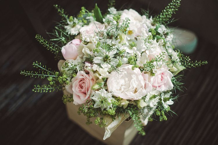 Pink & white Bridal Bouquet | Razia N Jukes Photography