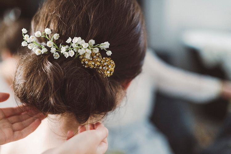 Rolled Chignon Bridal Up Do | Razia N Jukes Photography