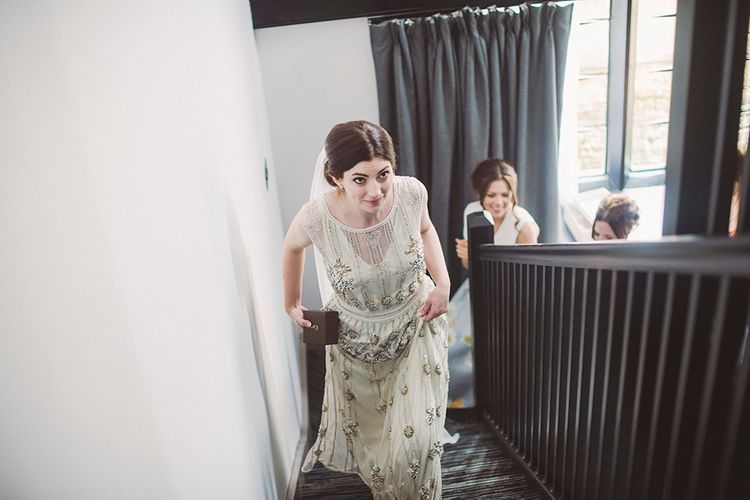 Bridal Preparations | Vintage Inspired Vicky Rowe Wedding Dress | Razia N Jukes Photography