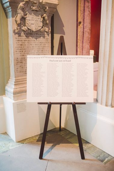 Table Plan | The Ashmolean Museum | Razia N Jukes Photography