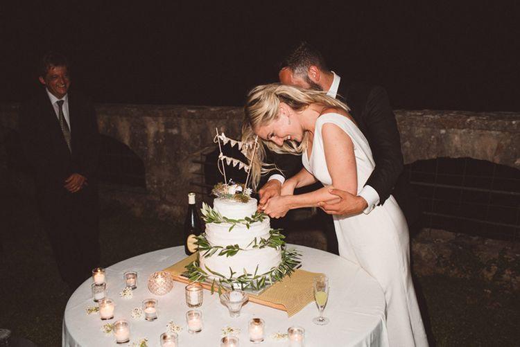 Elegant Italian Destination Wedding At AbbaziaSan Pietro Umbria With Bride In Charlotte Simpson And Images From Paolo Ceritano