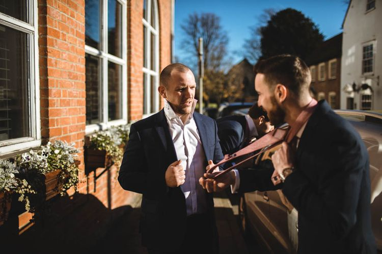 Pub Wedding At The White Horse Chichester With Bride In Limor Rosen And Groom In Ted Baker With Images From Victoria Popova Photography