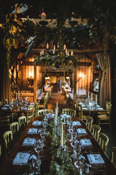 Foliage & Gold Details For A Pub Wedding At The White Horse Chichester With Bride In Limor Rosen And Groom In Ted Baker With Images From Victoria Popova Photography