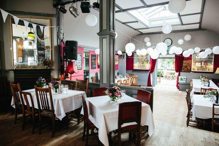 Ottolenghi in Spitalfields Wedding Breakfast | The Londesborough Reception