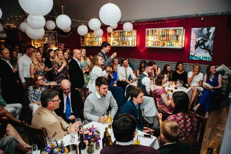 Lantern Filled Ottolenghi in Spitalfields Wedding Breakfast | The Londesborough Reception