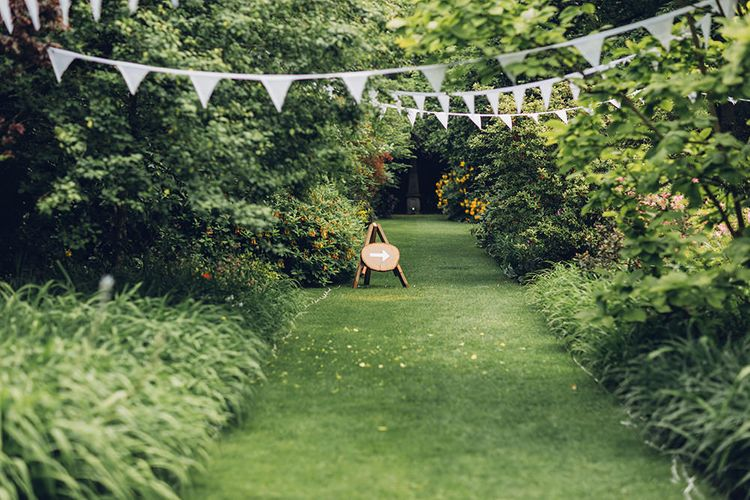 Bunting | Wedding Sign | Miss Gen Photography