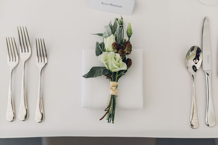 Floral Place Setting | Miss Gen Photography