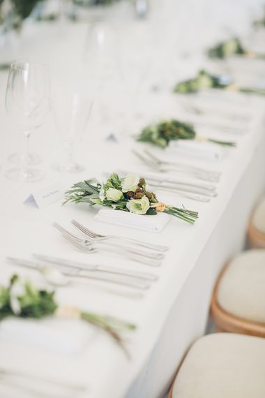 Floral Place Settings | Miss Gen Photography