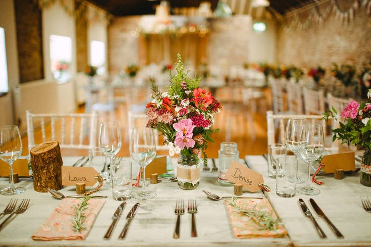 Lampshade Wedding Decor