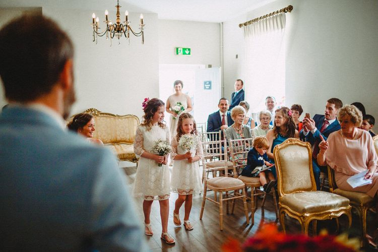 Vintage Inspired Wedding At The Moody Boar, Armagh NI With Bride In Vintage Dress From Archive 12 & Images From Holly and Lime Photography