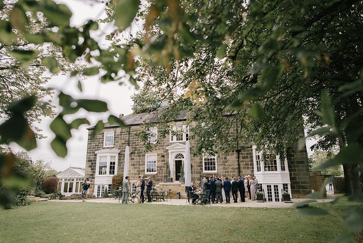 Elegant Black Tie Wedding with White Flowers at The Cleveland Tontine, North Yorkshire | Georgina Harrison Photography