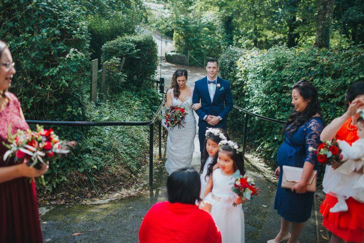 Launcells Barton Cornwall Wedding
