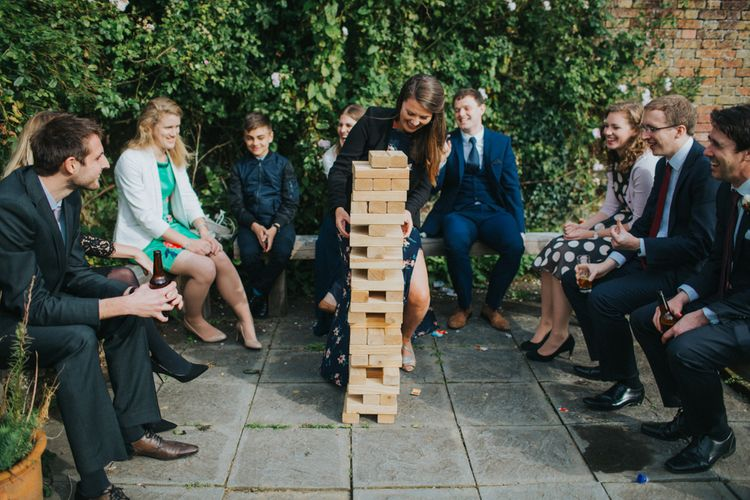 Garden Games For Elegant Cornish Wedding