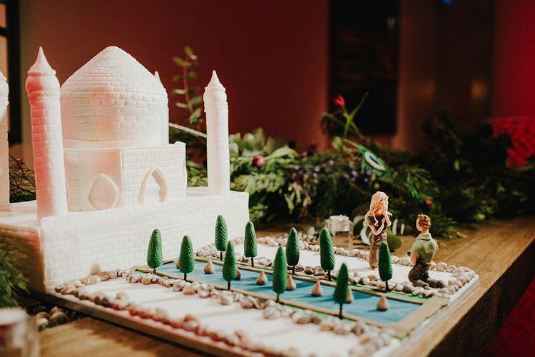 Taj Mahal Wedding Cake