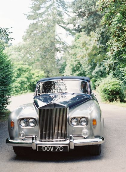 Vintage Wedding Car // Image By Taylor And Porter