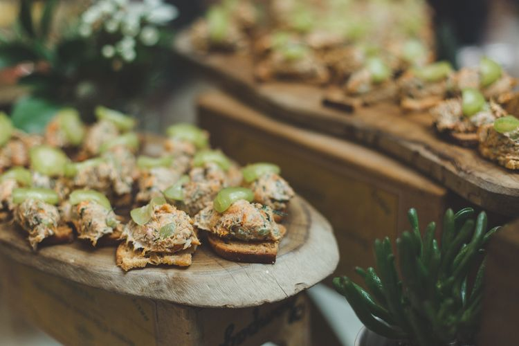 Wedding Canapes For Town Hall Wedding