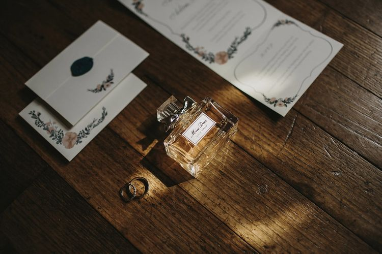 Wedding Stationery | Outdoor Destination Wedding at Château de Saint Martory in France Planned by Senses Events | Danelle Bohane Photography | Matthias Guerin Films