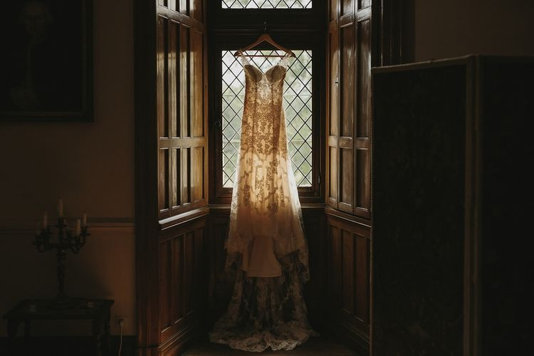 Lace Stella York Wedding Dress | Outdoor Destination Wedding at Château de Saint Martory in France Planned by Senses Events | Danelle Bohane Photography | Matthias Guerin Films