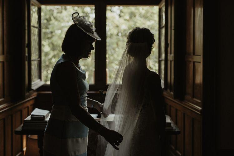 Bridal Preparations | Outdoor Destination Wedding at Château de Saint Martory in France Planned by Senses Events | Danelle Bohane Photography | Matthias Guerin Films