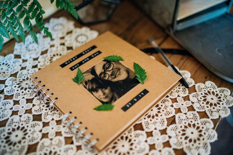 Guest Book | Bohemian Wedding at Woodfarm Barn, Suffolk | The Steed Photography